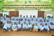 EIAR holds Agricultural Biotechnology Media Network workshop